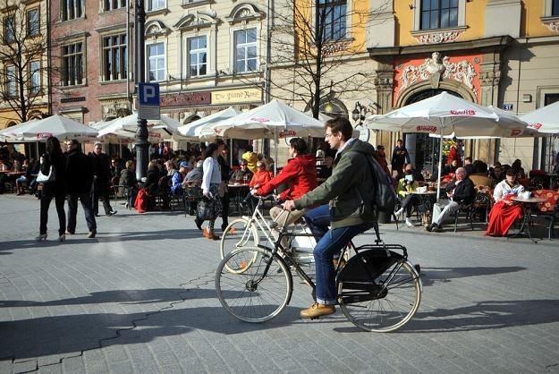W Polsce na rowerze może jeździć każdy... / Fot: Marek Lasyk /Reporter
