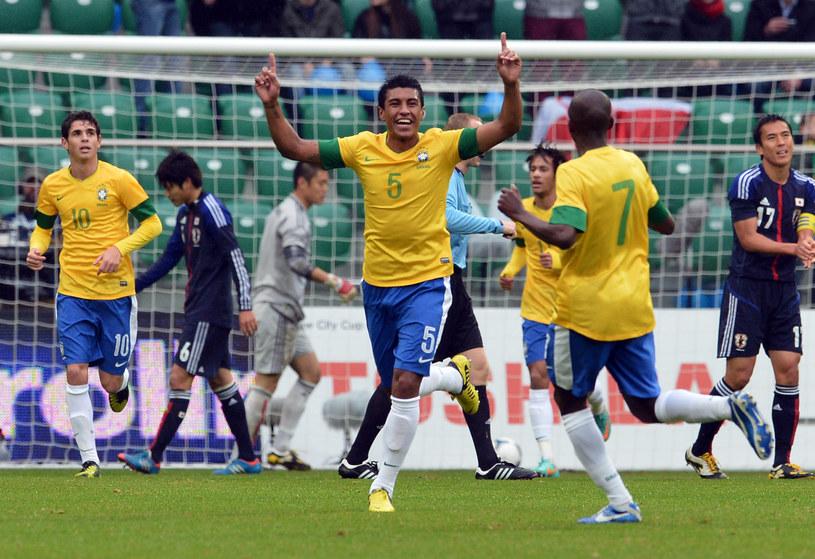 W Polsce Paulinho się nie przebił, dzisiaj jest reprezentantem Brazylii /AFP