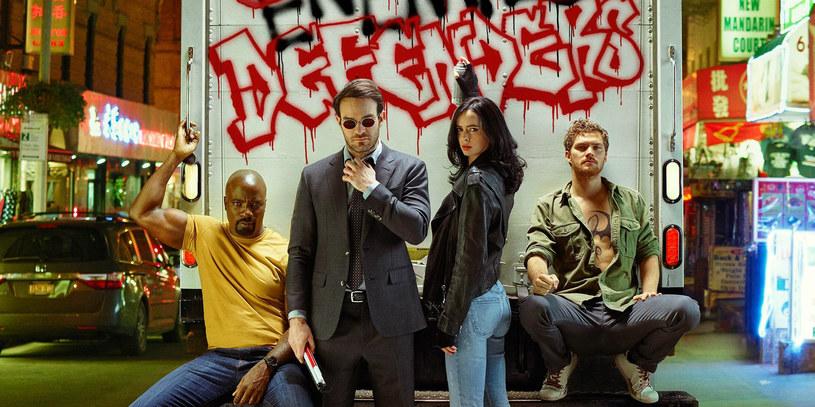 """W Polsce to serial """"Marvel: The Defenders"""" jest najchętniej oglądanym na wyścigi /materiały prasowe"""