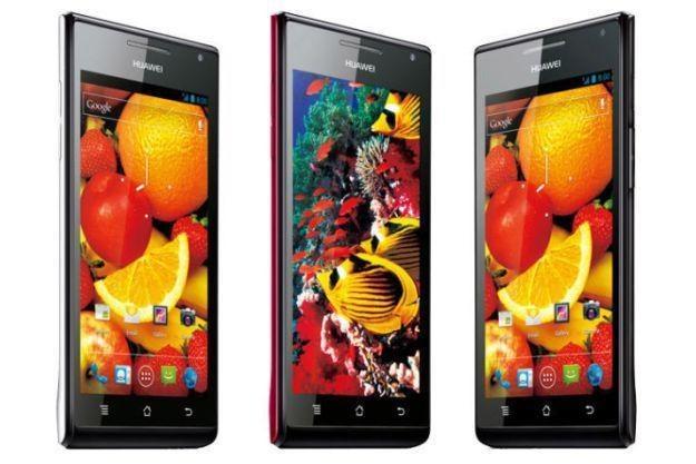 W Polsce wciąż nie można kupić atrakcyjnych modeli serii Ascend z Androidem /materiały prasowe