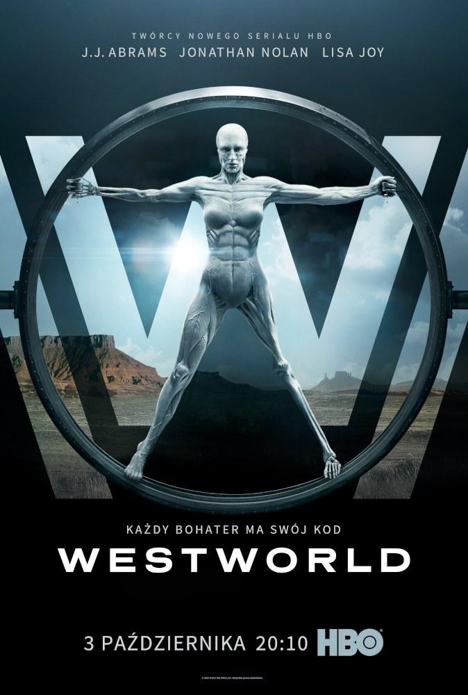 """W Polsce """"Westworld"""" zadebiutuje równolegle z amerykańską premierą serialu /HBO"""