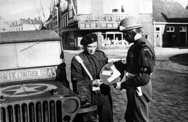 W polskiej stefie okupacyjnej w Niemczech - rok 1945 /Archiwum Tomasza Basarabowicza