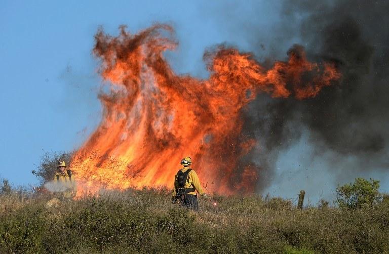 W południowej Kalifornii szaleją pożary lasów /AFP