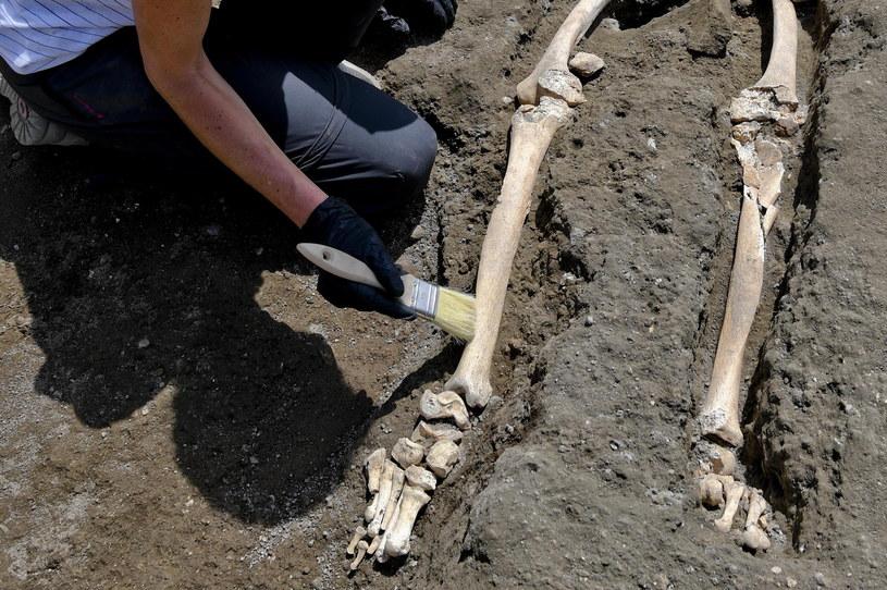 W Pompejach dokonano kolejnego odkrycia /CIRO FUSCO /PAP