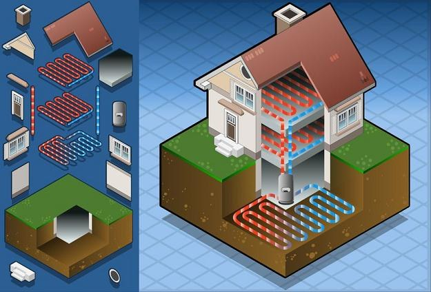 W pompie ciepła nawet 80 proc. powstałej energii pochodzi ze środowiska naturalnego /©123RF/PICSEL