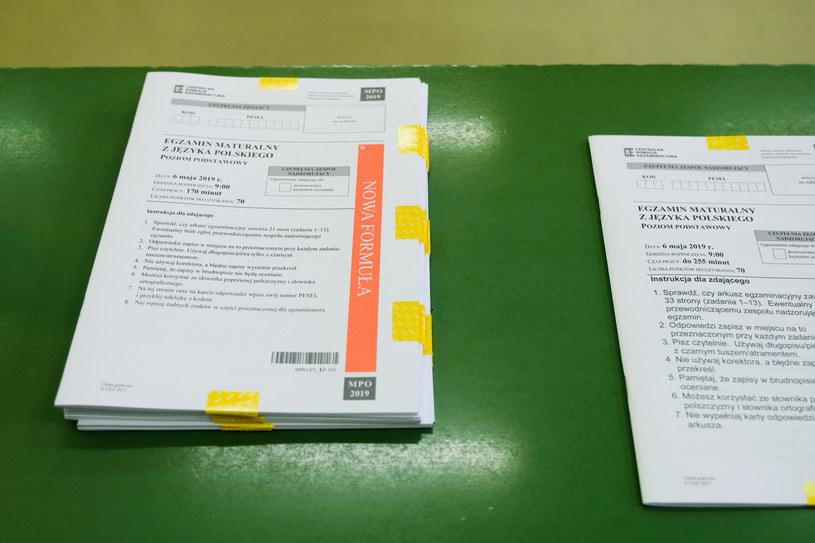 W poniedziałek (8 czerwca) pierwszy dzień egzaminów maturalnych, zdj. ilustracyjne /LUKASZ SOLSKI /East News