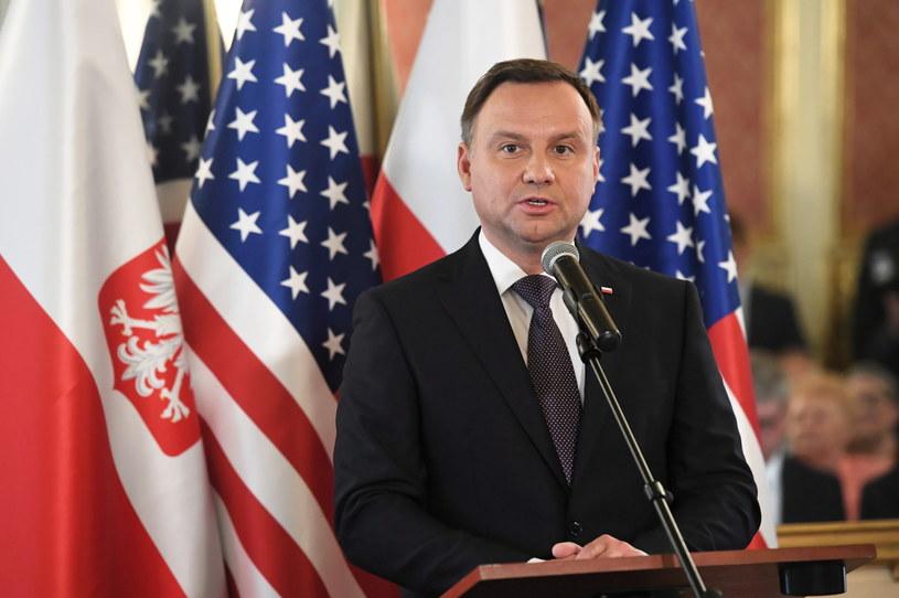 W poniedziałek rozpoczęła się trzydniowa wizyta prezydenta Dudy w USA /Radek Pietruszka /PAP