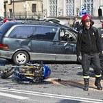 W poniedziałek zginęło pięciu motocyklistów...