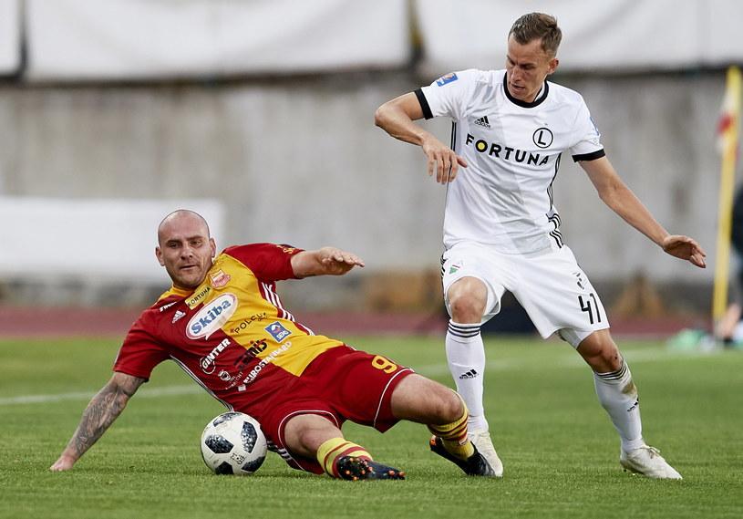 W poprzedniej rundzie Legia wyeliminowała Chojniczankę /Adam Warżawa /PAP