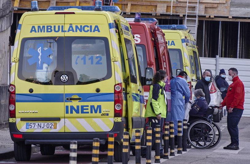 W Portugalii wiele szpitali zostało sparaliżowanych /Horacio Villalobos#Corbis/Corbis /Getty Images