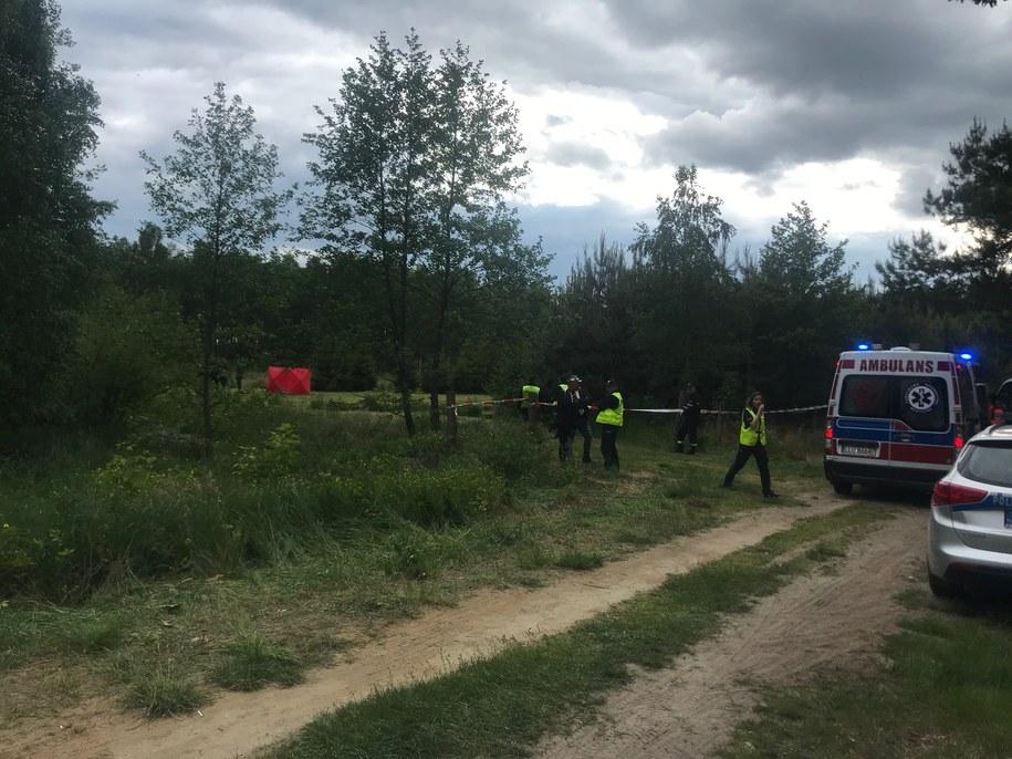 W poszukiwania 4-letniego Marka zaangażowanych było kilkadziesiąt osób /Krzysztof Kot /RMF FM