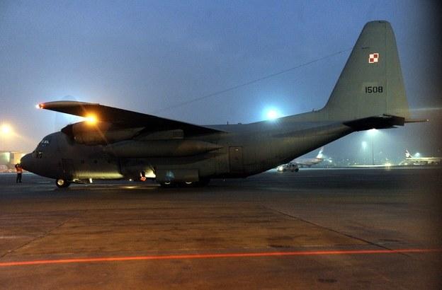 W Powidzu stacjonują, między innymi, samoloty Lockheed C-130 Hercules /RMF24