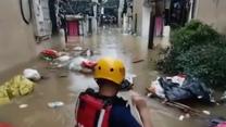 W powodziach na wschodzie Chin zginęło lub zaginęło nawet 120 osób