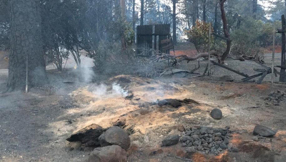 W Pożarach zginęły 83 osoby /CAL FIRE BUTTE COUNTY /PAP/EPA