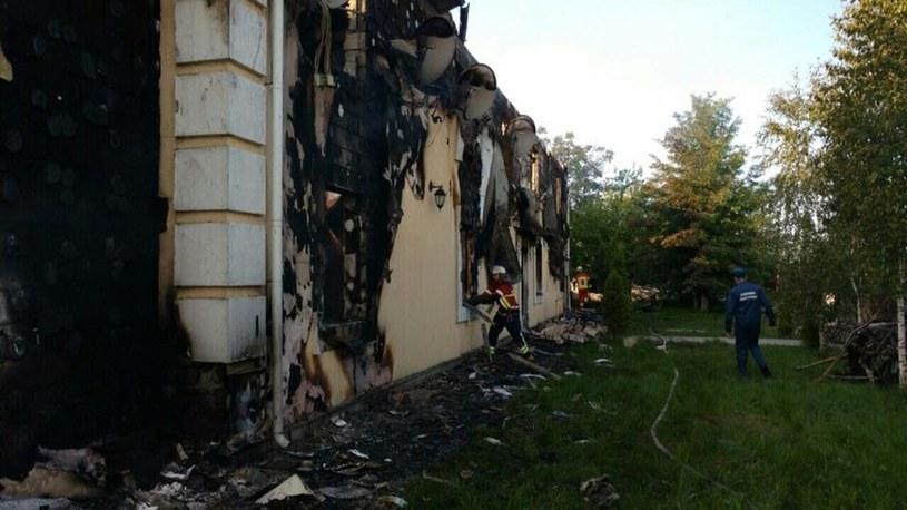 W pożarze zginęło 16 osób / mns.gov.ua  /