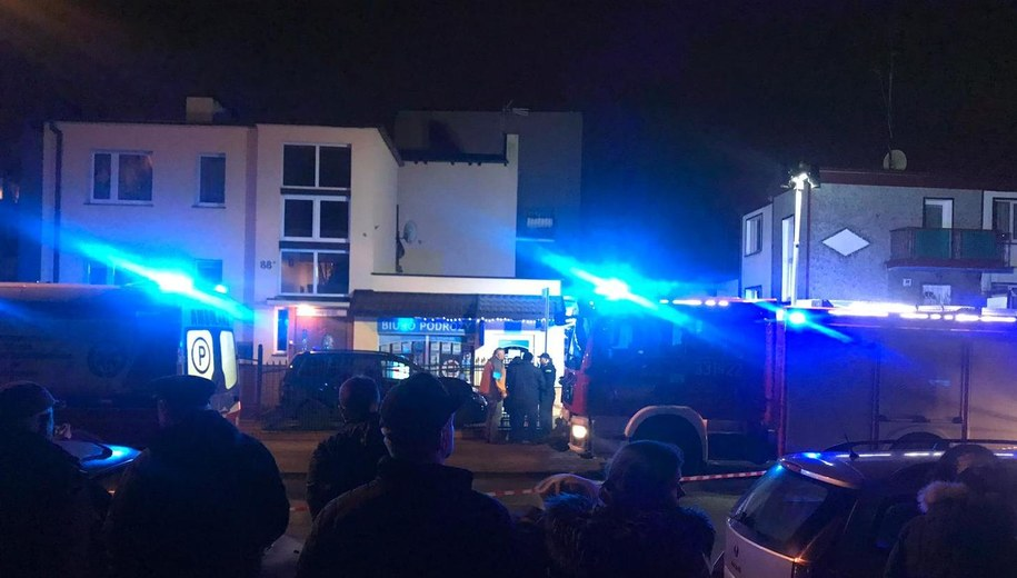 W pożarze zginęło pięć osób. /Ewelina Piechorowska /RMF MAXXX