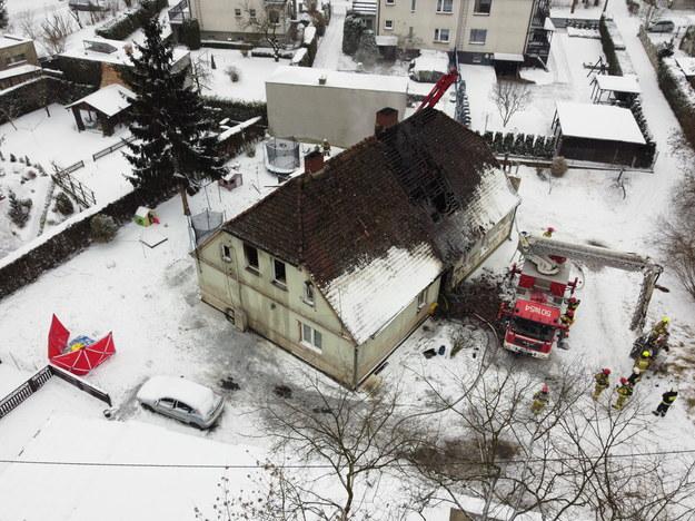 W pożarze zginęły 3 osoby / Lech Muszyński    /PAP