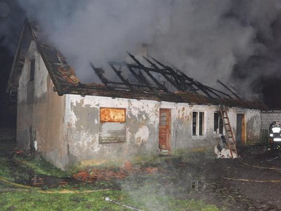W pożarze zginęły trzy osoby /Piotr Bułakowski /RMF FM