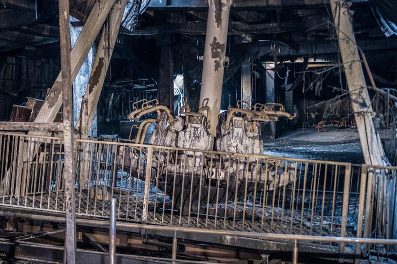 W pożarze zginęły - według oficjalnych danych - 64 osoby /DMITRY SEREBRYAKOV /AFP