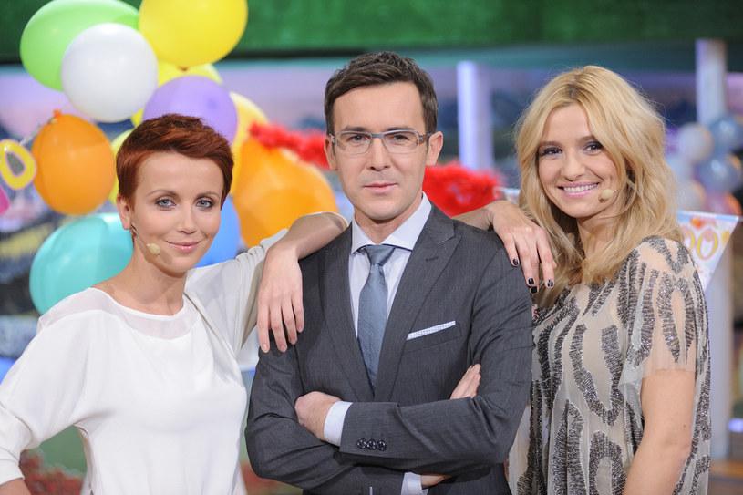 W programie Kocham Cię, Polsko! udają wzajemną sympatię /Jarosław Antoniak /MWMedia