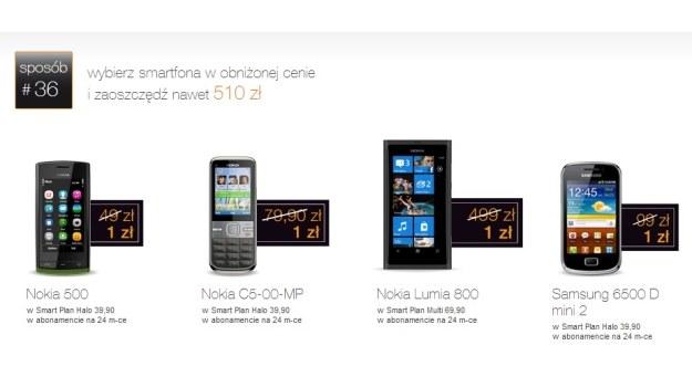 W promocji jest sporo ciekawych smartfonów i tabletów /materiały prasowe
