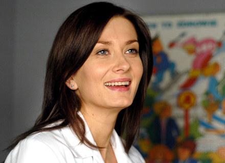 W przychodni Anitę Sokołowską traktują jak swoją.  fot.M.Ulatowski /MWMedia