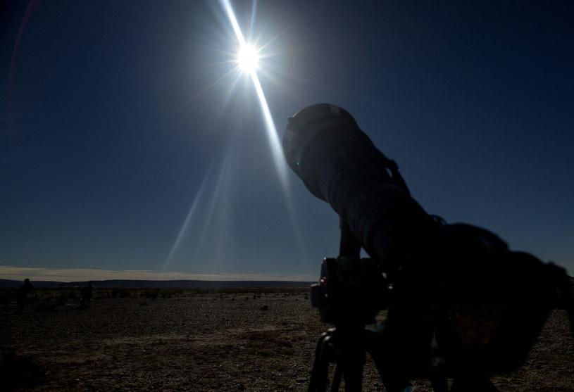 W przypadku Polski zaćmienie będzie niewidoczne, z jednym małym wyjątkiem /ALEJANDRO PAGNI /AFP