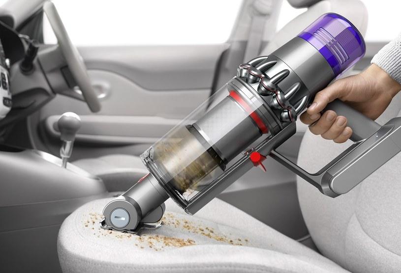 W przypadku takich przedsięwzięć jak sprzątanie w samochodzie, V11 spisuje się doskonale /materiały prasowe