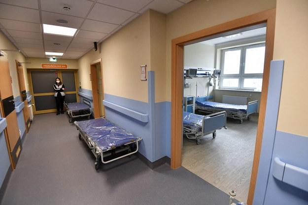 W Radomiu wkrótce ma zostać uruchomiony szpital tymczasowy dla chorych na Covid-19 / Piotr Polak    /PAP