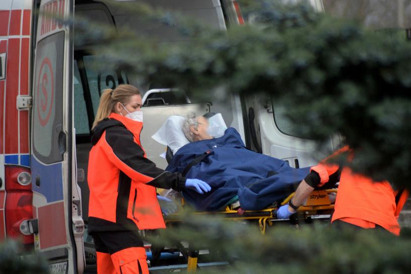 W radomskim szpitalu brakuje łóżek dla chorych na koronawirusa, zdjęcie ilustracyjne /Karolina Adamska /East News