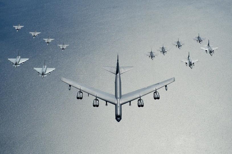 W ramach ćwiczenia Baltops 2016 pojawi się rzadko widywany bombowiec strategiczny dalekiego zasięgu B-52 /materiały prasowe