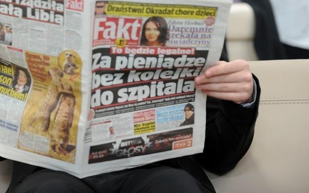 """W redakcji """"Faktu"""" od czterech lat zwolnienia mają miejsce co roku / fot. B. Krupa /East News"""