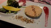 W restauracji w Dordogne, w Domme