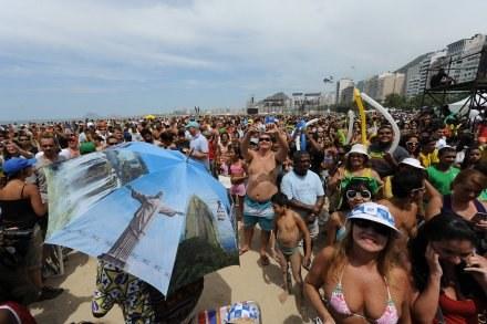 W Rio de Janeiro fetują zwyciętwo /AFP