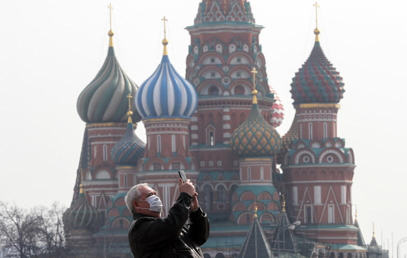 W Rosji przybywa zakażonych /Sergei Ilnitsky /PAP/EPA