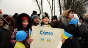W rosyjskich mediach obrona aneksji Krymu