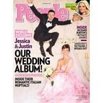 W różowej sukni ślubnej
