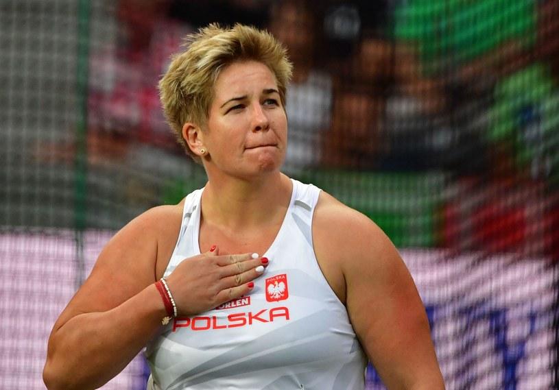 W rzucie młotem mamy aż trzy medalowe szanse. W eliminacjach najlepsza była Anita Włodarczyk /AFP