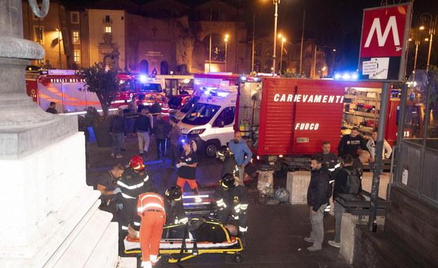 W Rzymie zapadły się ruchome schody. 24 osoby ranne