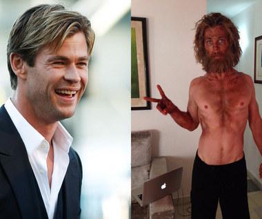 """""""W samym sercu morza"""": Wychudzony Chris Hemsworth"""