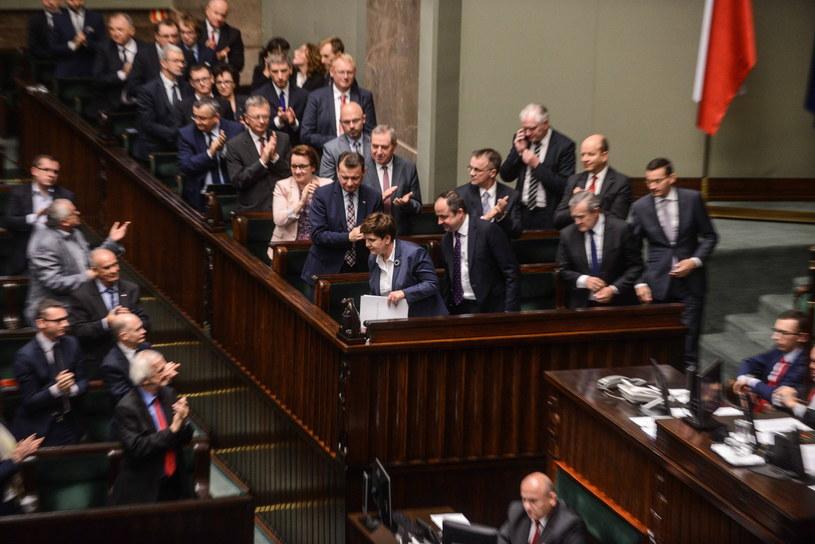 W Sejmie nie obyło się bez burzliwych dyskusji /Jakub Kamiński   /PAP