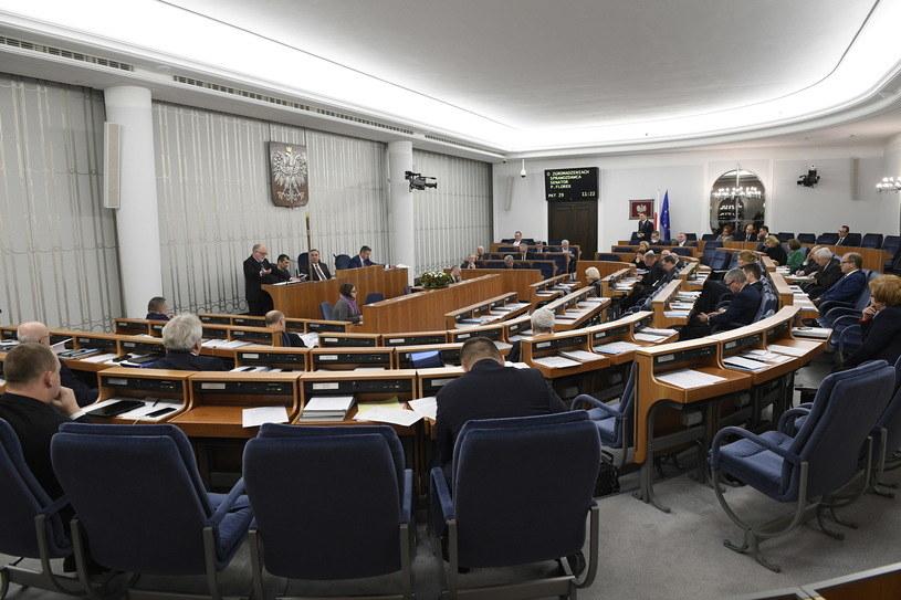 W Senacie odbywała się debata na temat ustawy /Jacek Turczyk /PAP
