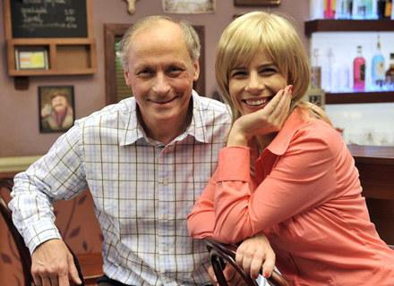 W serialu w główne role wcielili się Paweł Wawrzecki i Agata Kulesza fot.J.Kurnikowski /AKPA