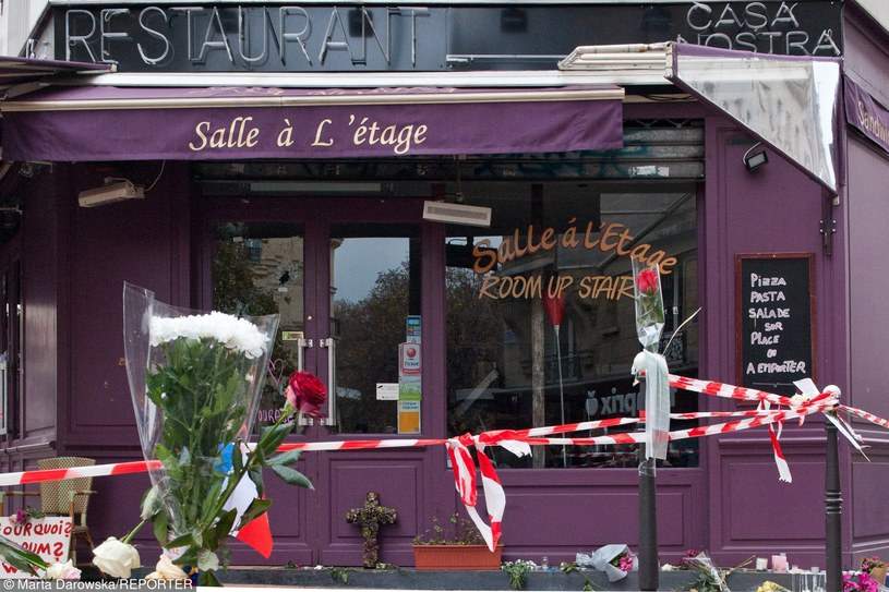 W serii zamachów w Paryżu zginęły 130 osoby /Marta Darowska/REPORTER /East News