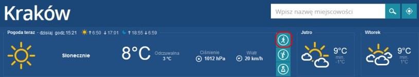 W serwisie Pogoda.interia.pl możesz sprawdzić pogodę dla biegaczy /pogoda.interia.pl /INTERIA.PL