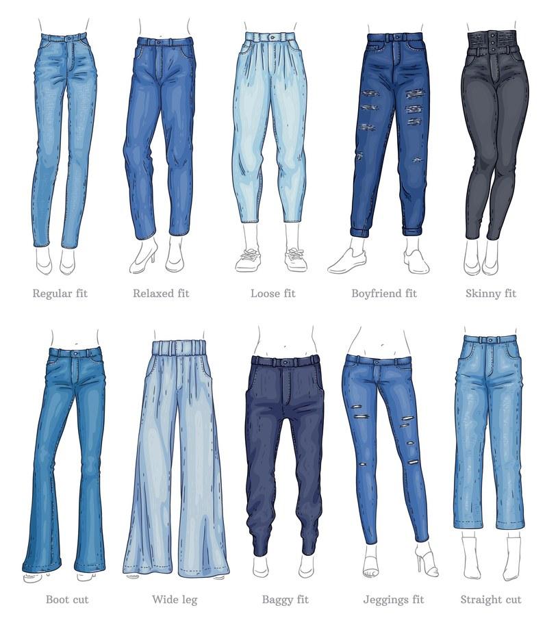 W sezonie wiosna – lato 2021 obcisłe jeansy możemy schować głębiej do szafy /123RF/PICSEL