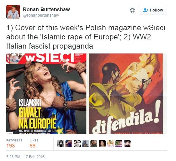 """""""W Sieci"""" jak faszystowska propaganda? /"""