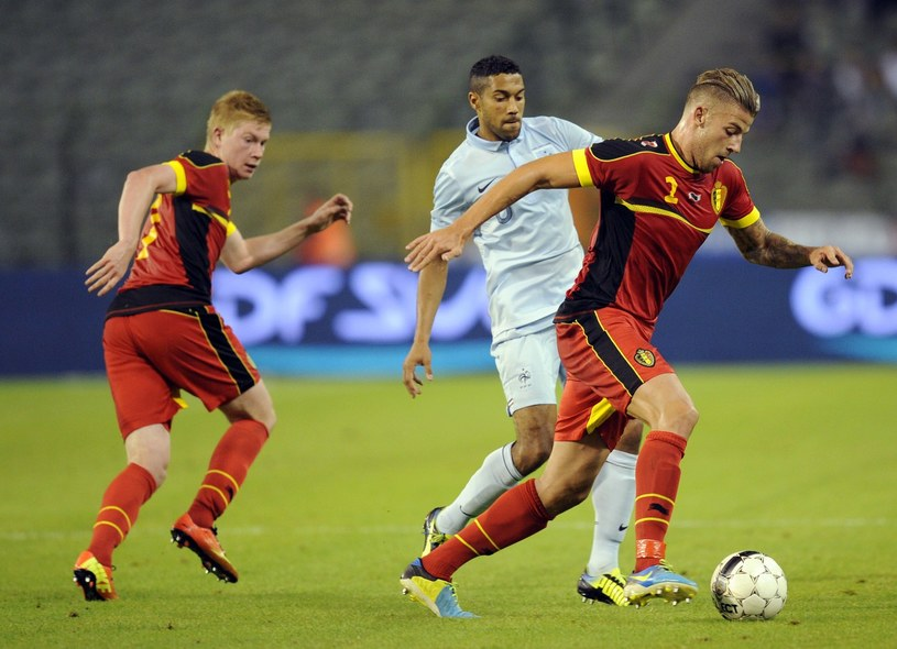 W sierpniu Belgowie grali z Francuzami na Stadionie Króla Baudouina /AFP