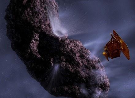 W skali kosmicznej to mikrus, ale dla Ziemi - potencjalny zabójca... /AFP