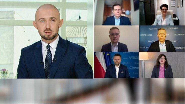 """W """"Śniadaniu Polsat News i Interii"""" rozmawiano o lockdownie /Polsat News"""